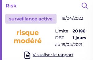 Surveillance risque client
